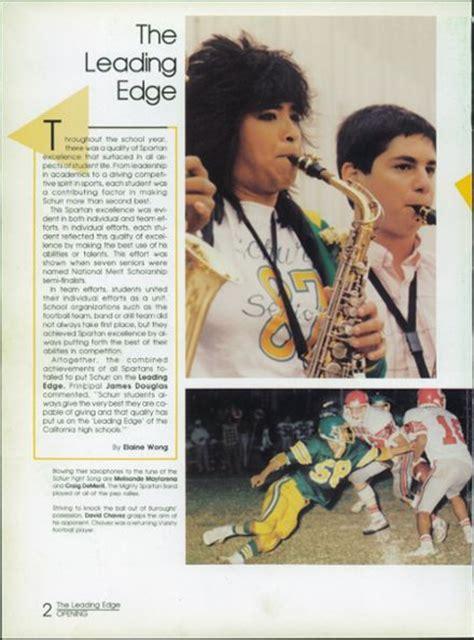 Schurr High School Number by Explore 1987 Schurr High School Yearbook Montebello Ca