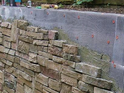 Wall Stone Retaining Concrete Walls Diy Cement