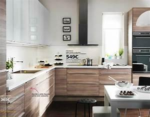 Modeles Cuisine Ikea : id e relooking cuisine mod le de cuisine ikea faktum sofielund noyer gris clair raffinement ~ Dallasstarsshop.com Idées de Décoration