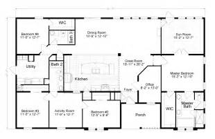 homes floor plans view tradewinds floor plan for a 2595 sq ft palm harbor manufactured home in plant city florida