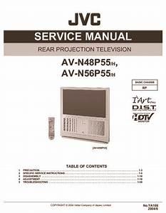 Jvc Av H  Av H Chassis Rp  Service Manual
