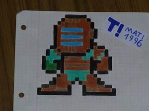 Mi arte Gamer en papel cuadriculado Taringa!
