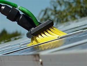 Perche Telescopique Nettoyage Toiture : brosse pour nettoyage panneaux solaires jaune unger ~ Premium-room.com Idées de Décoration