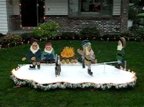 motorized christmas lawn decorations