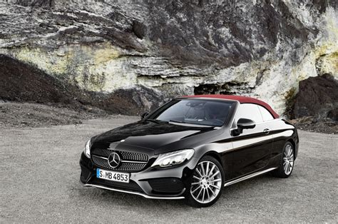 2017 Mercedes Benz C Class Cabriolet Sneak Peak