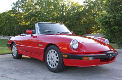 1989 Alfa Romeo Spider by 1989 Alfa Romeo Spider Quadrifoglio For Sale On Bat