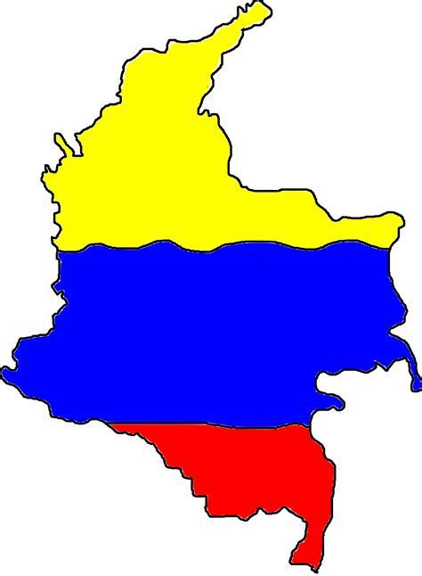 mapa de colombia clipart - Clipground
