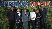 Sherlock Gnomes Cast Interviews - James McAvoy, Stephen ...