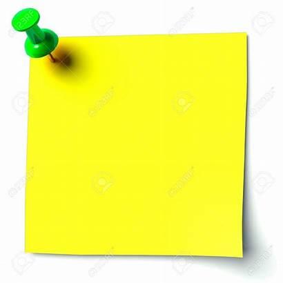 Board Clipart Notice Yellow Sticker Clipground Cliparts
