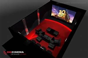 Cinema A La Maison : le concept 08a une salle cin ma maison r alis e sur mesure ~ Louise-bijoux.com Idées de Décoration