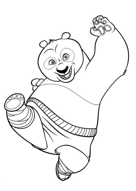 disegni  kung fu panda da colorare pianetabambiniit