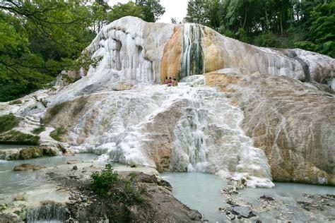 terme di bagni di san filippo l area termale di castiglione d orcia bagni di san