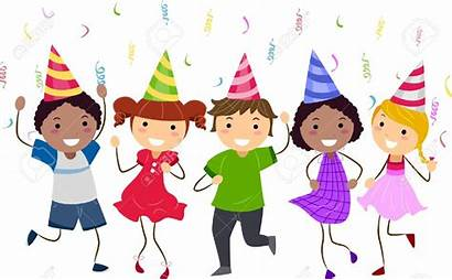 Party Dance Clipart Dancing Birthday Class Clip