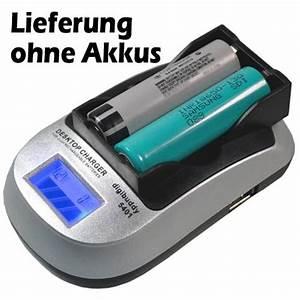 Ladegerät Für 18650 Akkus : ladeger t f r li ion 18650 akkus mit lcd anzeige ~ Watch28wear.com Haus und Dekorationen