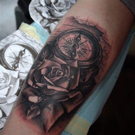 compass rose tattoo  atmikendazzoart  pridenenvy