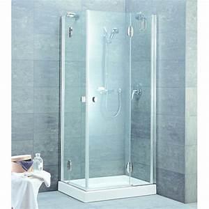 parois vitrees pour douche d39angle ou de face aquarian With parois vitrées pour douche sans porte