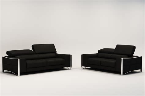 canape lit confortable deco in ensemble canape cuir 3 2 places noir