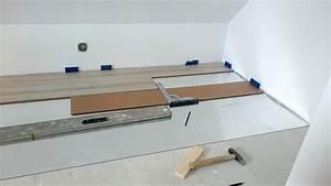 laminat verlegen in eigenleistung anleitung teil 2 With balkon teppich mit tapete schneiden werkzeug