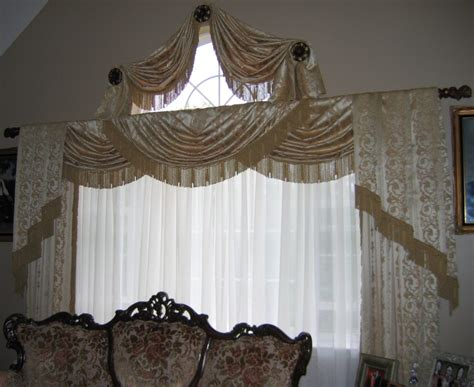 Drapery Swags by Swags Valances Interior Designer In Stratford Ct