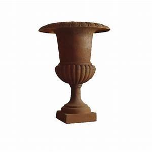 Nettoyer Fonte Rouillée : vase medicis fonte rouille ~ Farleysfitness.com Idées de Décoration