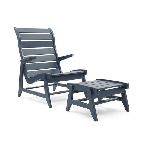 furniture handsome patio chairs with ottoman reclining