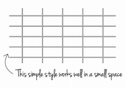 Subway Backsplash Tiles Tile Stacked Ways Horizontal