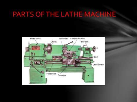 Parts Of The Lathe Machine