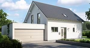 Anbau Einfamilienhaus Beispiele : ihr massivhaus mit garage kern haus ~ Lizthompson.info Haus und Dekorationen