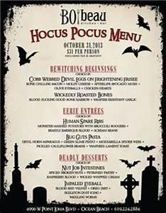 ourhomecreations Halloween Dinner Menu