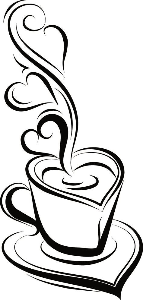 Heartbeat coffee svg ekg coffee clipart silhouette cricut. coffee love | Coffee heart, Coffee art, Heart design