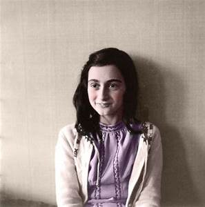 Anne Frank In color - a photo on Flickriver