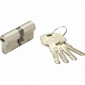 Cylindre De Sécurité : cylindre de serrure d brayable mm bricard mistral ~ Edinachiropracticcenter.com Idées de Décoration