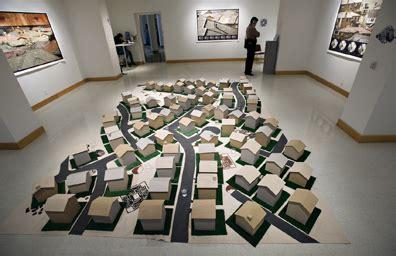 exhibitions reception set artist tract mind