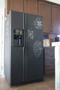 chalkboard paint kitchen ideas chalkboard paint refrigerator lovely the inspired room