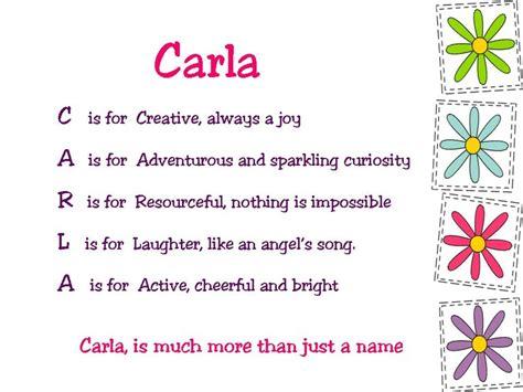 acrostic  poems  girls carla  birthday board