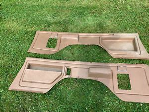 120 wall complete assembled roll cage. 80-91 1980-1991 Ford Bronco Rear Interior Panels W ...
