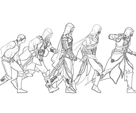 unity assassin assassins creed sketches assassins