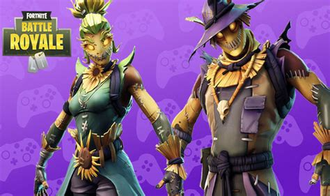 fortnite  leaked skins halloween scarecrow straw ops