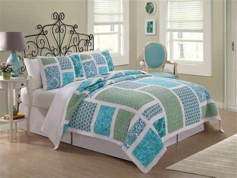 nautical quilt sets nautical cottage blue green floral
