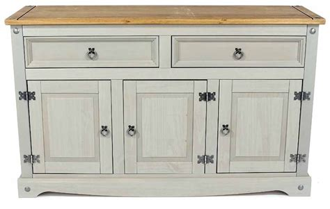 Corona Medium Sideboard by Products Crg916 Corona Grey Medium Sideboard