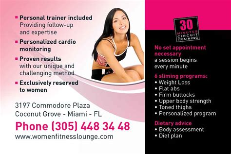 Examples of personal trainer business cards affirmations f freelance. Marketing for Personal Trainers