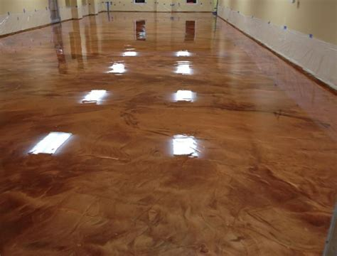 Floor Paint Marble by Metallic Marble Epoxy Flooring Ft Wayne In Toledo Oh