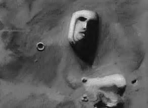 Cydonia Face On Mars