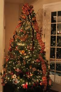 gorgeous country christmas tree everything christmas pinterest the ribbon