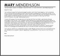 Cover Letter Template For Agency Booking Agent Cover Letter Sample LiveCareer