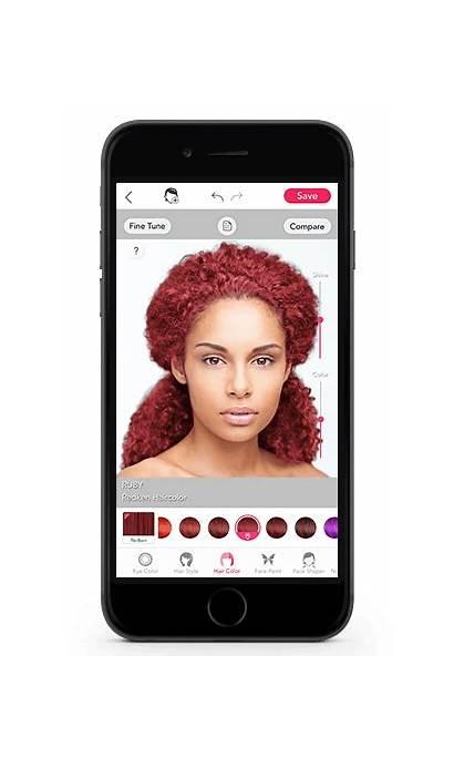 Redken Different Colors App Try Change Virtual