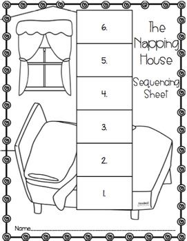 the napping house preschool activities kindergarten the napping house worksheet kindergarten 371