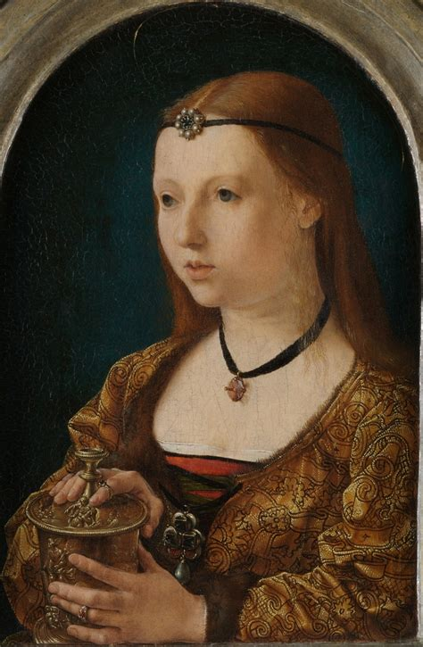 Mary Magdalen Early 16th Century Flemish Painter