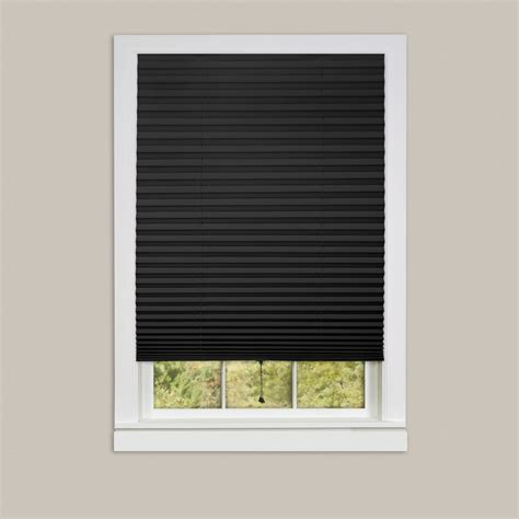 who sells l shades pleated window shades room darkening vinyl blinds 75 quot l