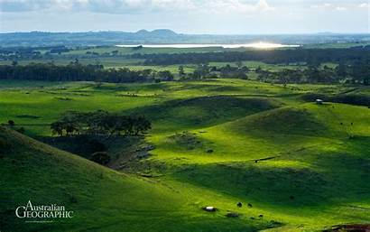 Victoria Wallpapers Australian Geographic Hill Mt Geography